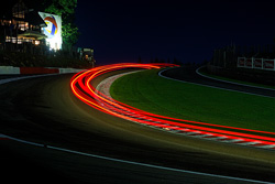 A long exposure at night will result in some amazing light streaks from the passing cars.